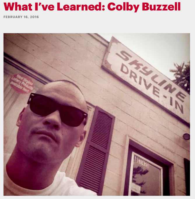 Colby buzzell esquire magazine