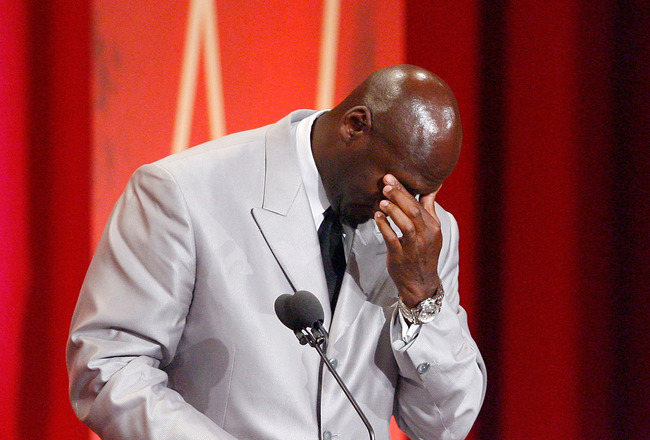 Jordan cries, accepting Charlotte 'Business Person of the Year' award
