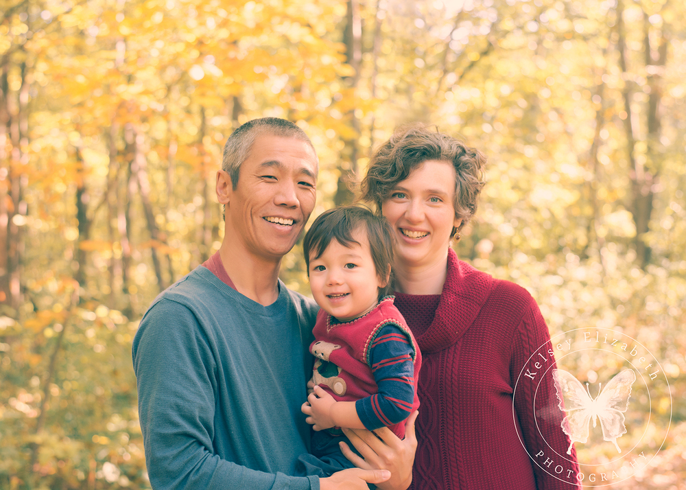 Twin Cities Family Photographer; Natural Light Photography; Fall Foliage Portrait; Hastings MN