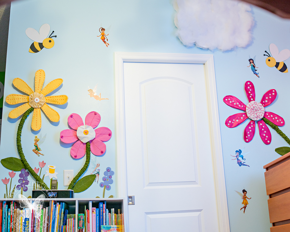 Tinker bell Bedroom; Disney Fairies Bedroom; Children's Bedroom