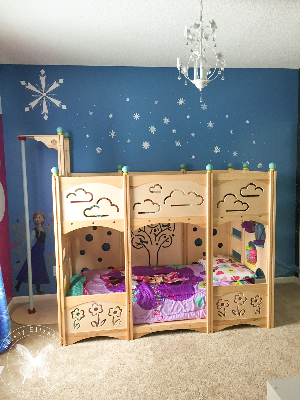 Frozen Bedroom; Disney Bedroom; Children's Bedroom