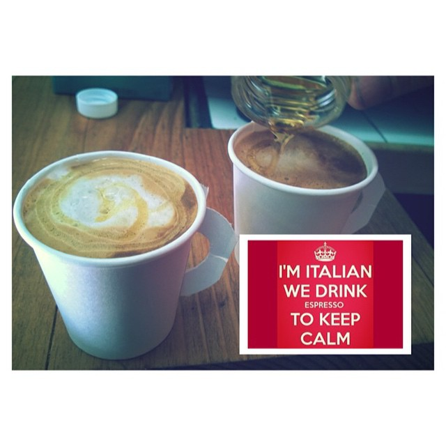 Buon day a tutti! It's a good day to have a GOOD DAY! 😄😄😄 #buongiorno #coffee #keepcalm #cafe #italia #chef  #instagood #goodmorning #food #foodislove #foodismylife #picoftheday #nyc #shopsmall #photogrid @photogridorg