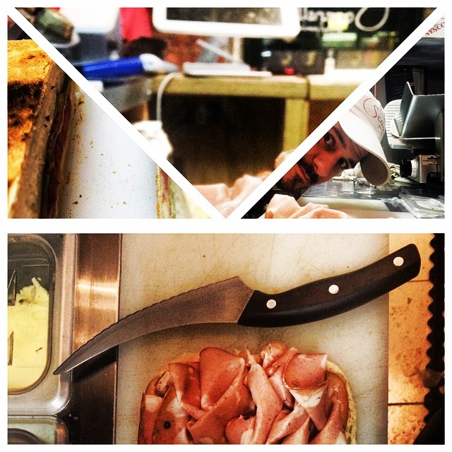 Buon Pranzo 😄#food #cafe #chef #foodislove #instacool #instamood #pranzo #potd #foodie #foodismylife #lunch #hellskitchennyc #NYC