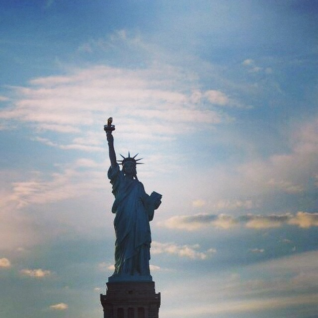 Buon Day NYC! Make today ridiculously AMAZING! 😄 #nyc #tgif #chef #liberty #instacool #potd #instagood #amazing #life ##newyork #morning #food