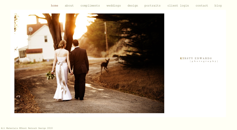 Website Launch 2010, Kirsty Edwards, San Francisco Wedding Photography