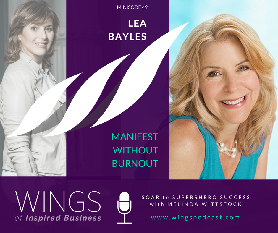 49 Minisode: Turning Challenge into Opportunity - Advice from Lea Bayles