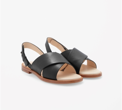 Crossed leather sandals, $125  Click picture for link, all images from COS