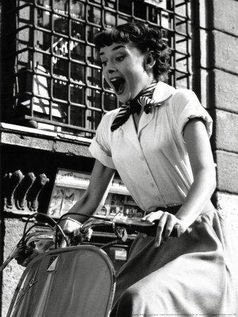 "Hepburn in ""Roman Holiday"" Photo: IMDb"