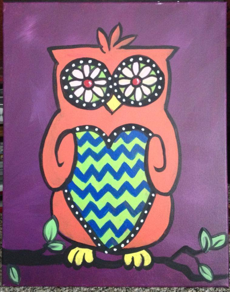 """Chevron Owl"" - 2 hours"