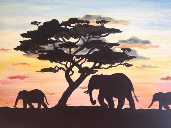 """Early Morning Elephants"" - 2.5 hours"