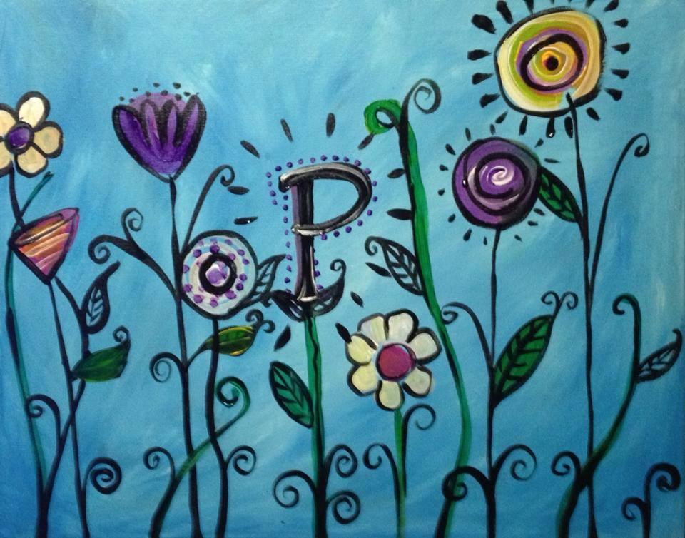 """""""Monogram Garden"""" - 2 hours"""