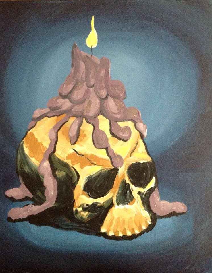 """Glow Skull"" - 3 hours"