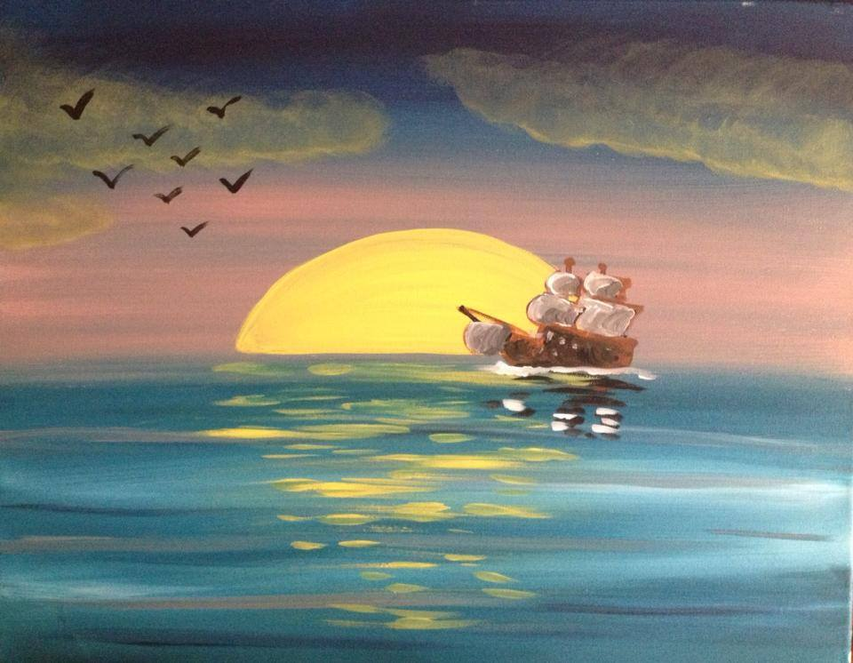 """Sunset Sails"" - 2 hours"