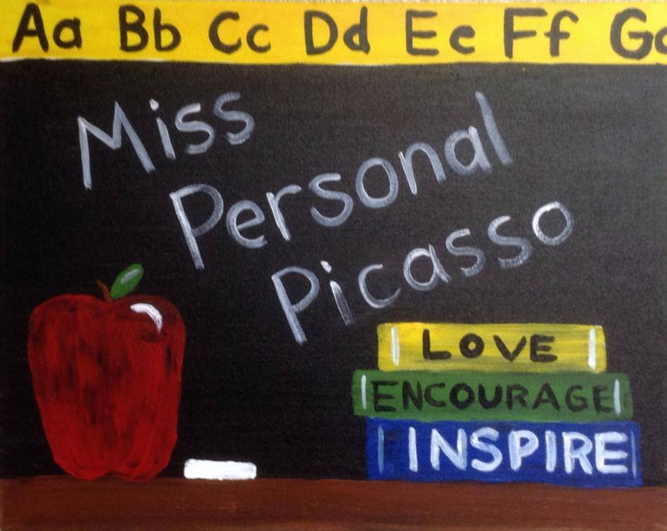 """Personal Blackboard"" - Customizable - 2 hours"