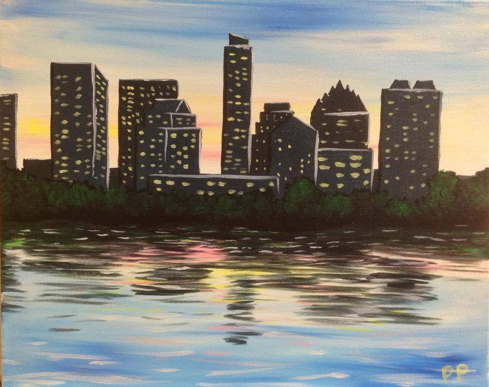 """Sunset Austin Skyline"" - 2 hours"