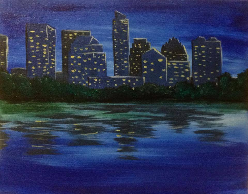 """Austin Skyline at Dusk"" - 2 hours"