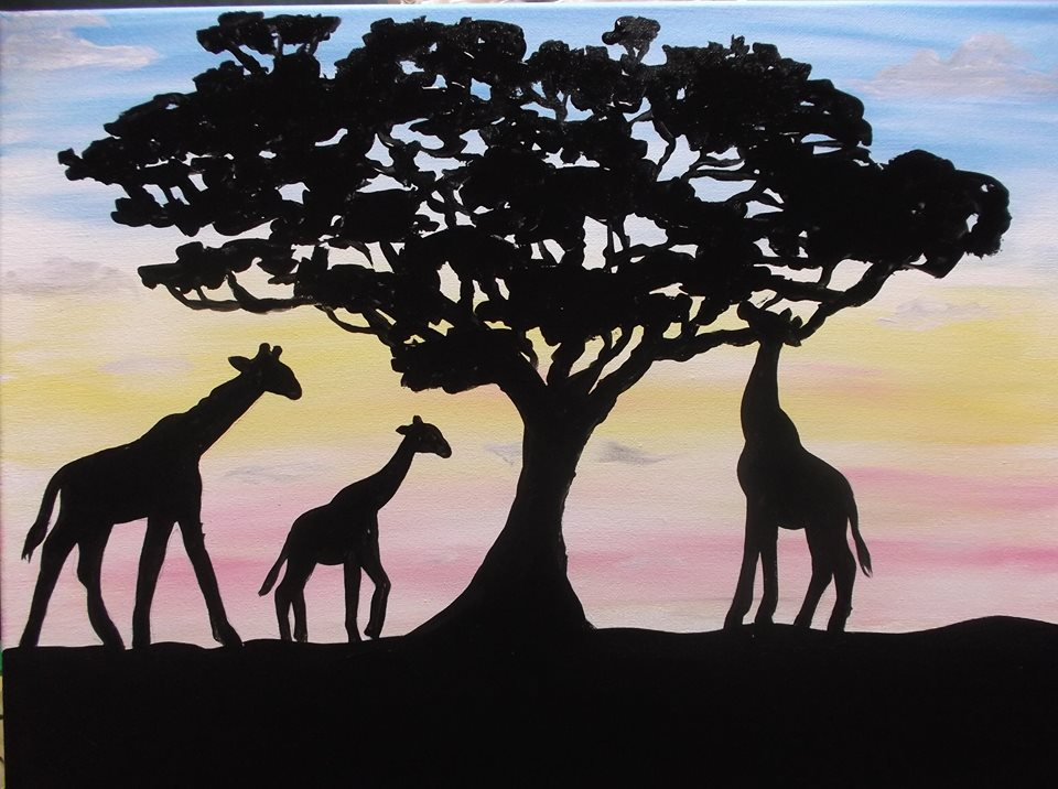 """Early Morning Giraffes"" - 2 hours"
