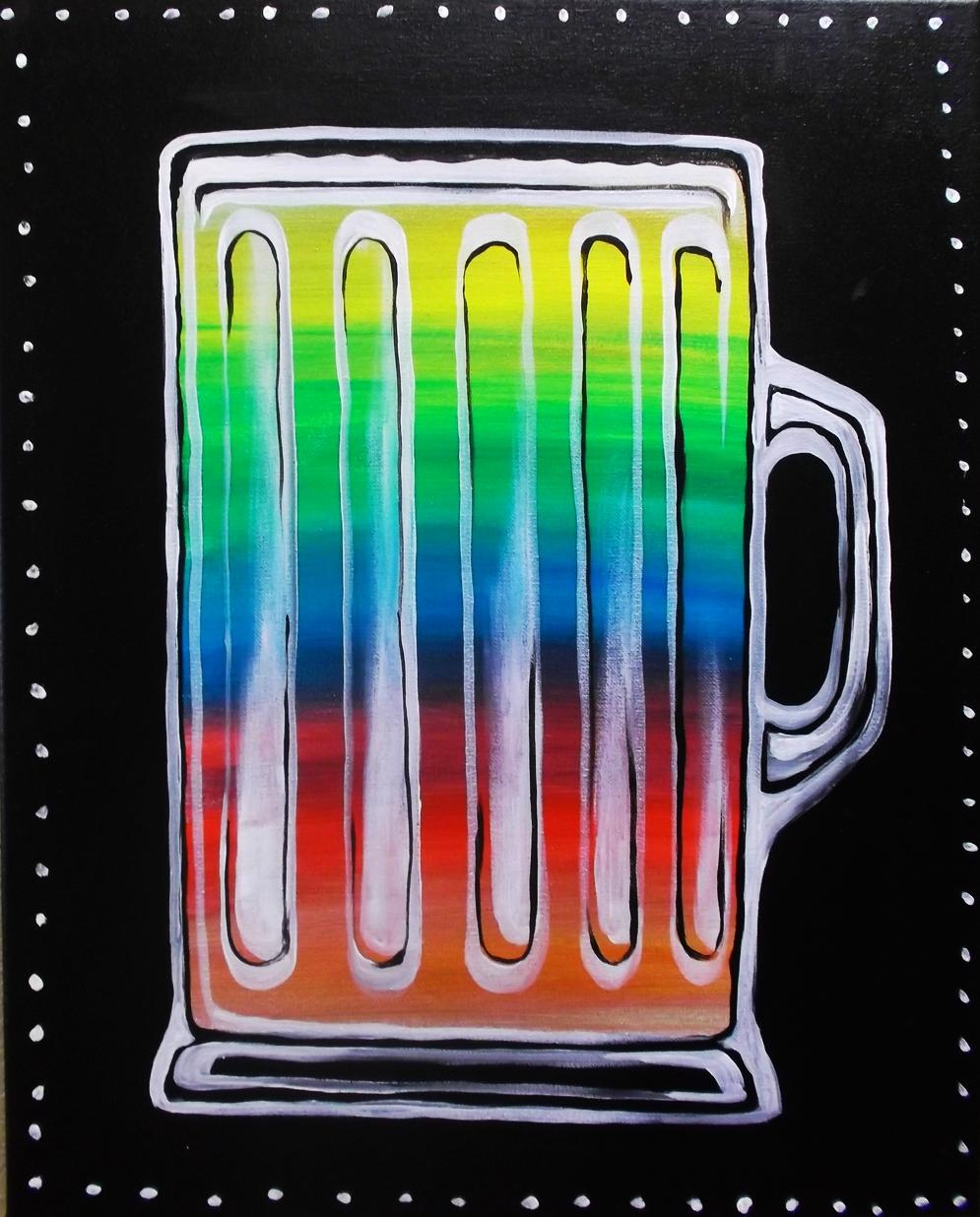 """""""Neon Sips (beer)"""" - 2 hours"""