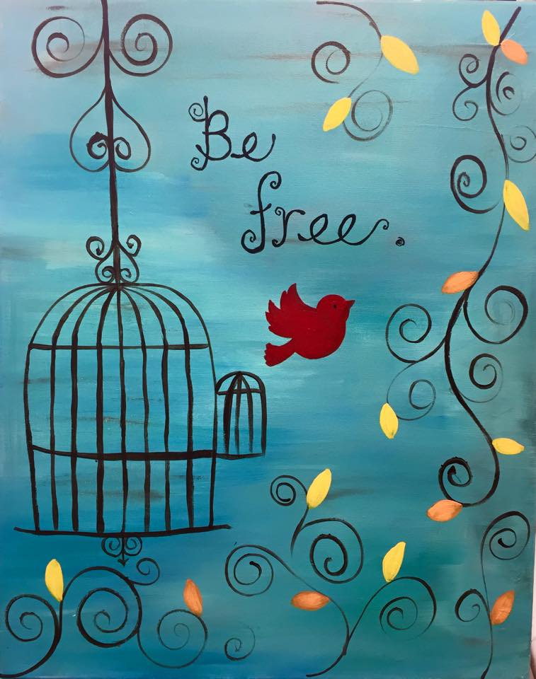 """Be Free."" - Customizable - 2 hours"