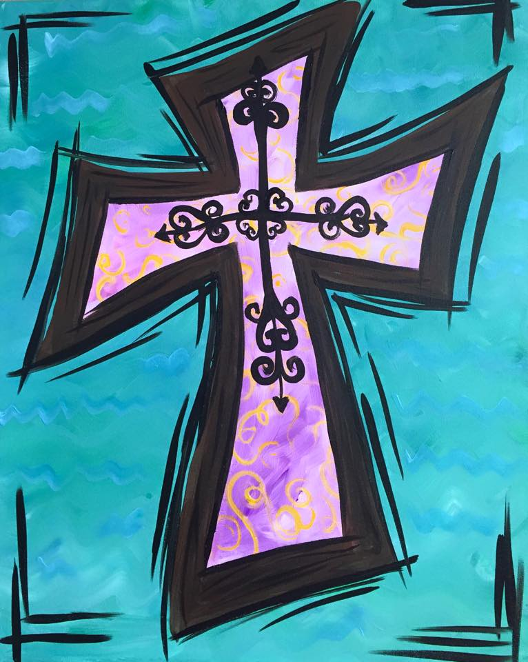 """Layered Cross"" - 2 hours"