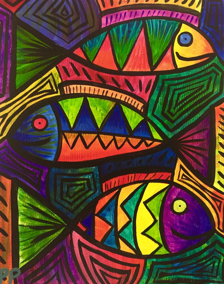 """Fish Fancy"" - Customizable - 2 Hours"