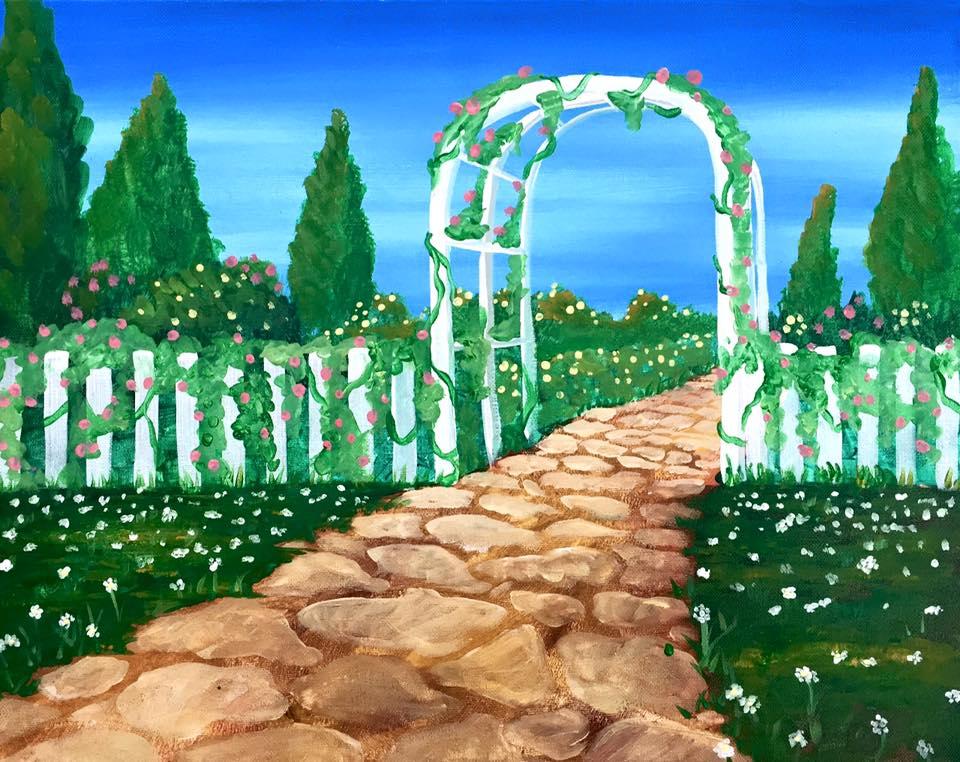"""Garden Path"" - 2.5 hours"