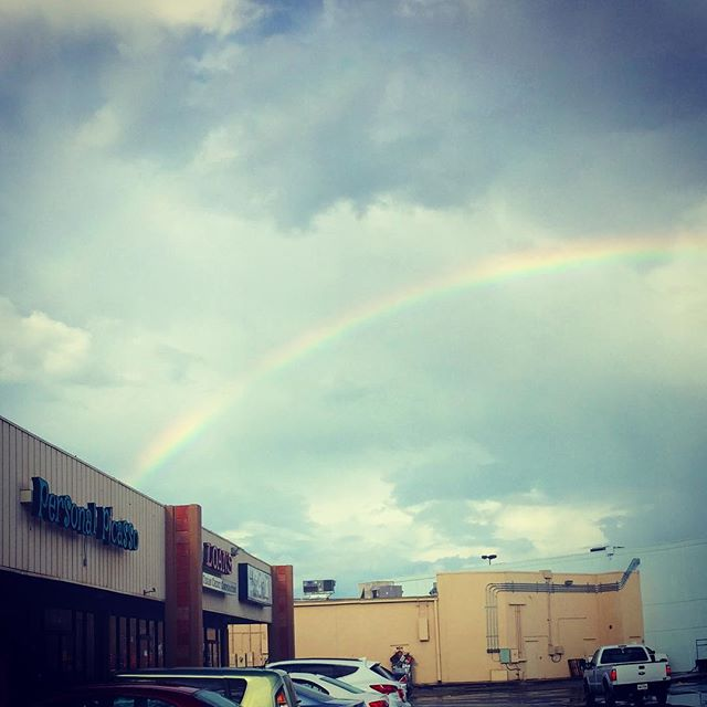 Pot of #gold is hiding in #PersonalPicasso!  We hope everyone is having a #blessed day! #love #sanmarcos #sanmarvelous #rainbow #colorful #paintparty #instagood #picoftheday