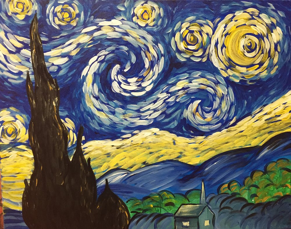 """Van Gogh's 'Starry Night'"" - 2.5 Hours"