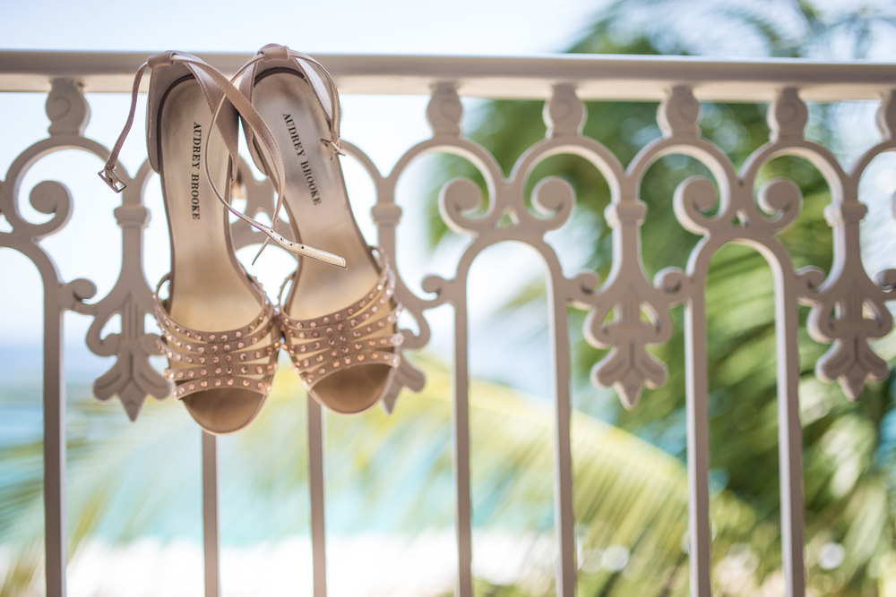 wedding shoes los cabos