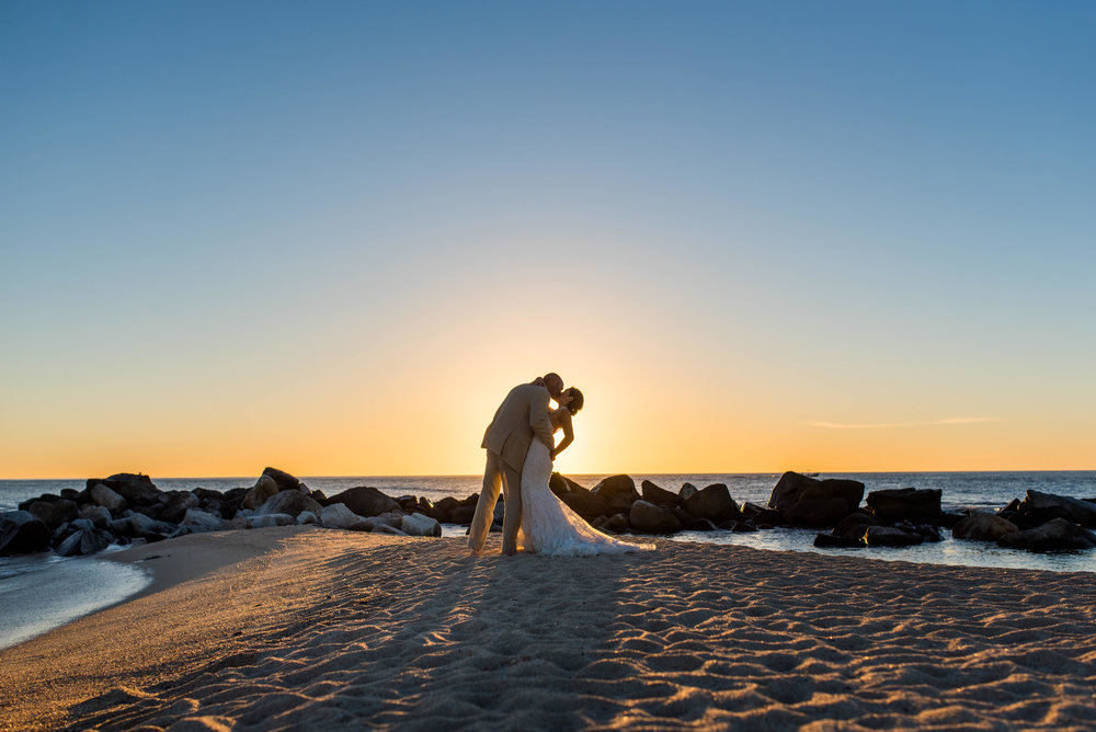 Bride And Groom Sunrise Photo Session