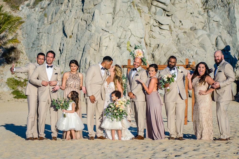 Los Cabos wedding at Villa MArcella at el Pedregal Cabo San Lucas. K & H