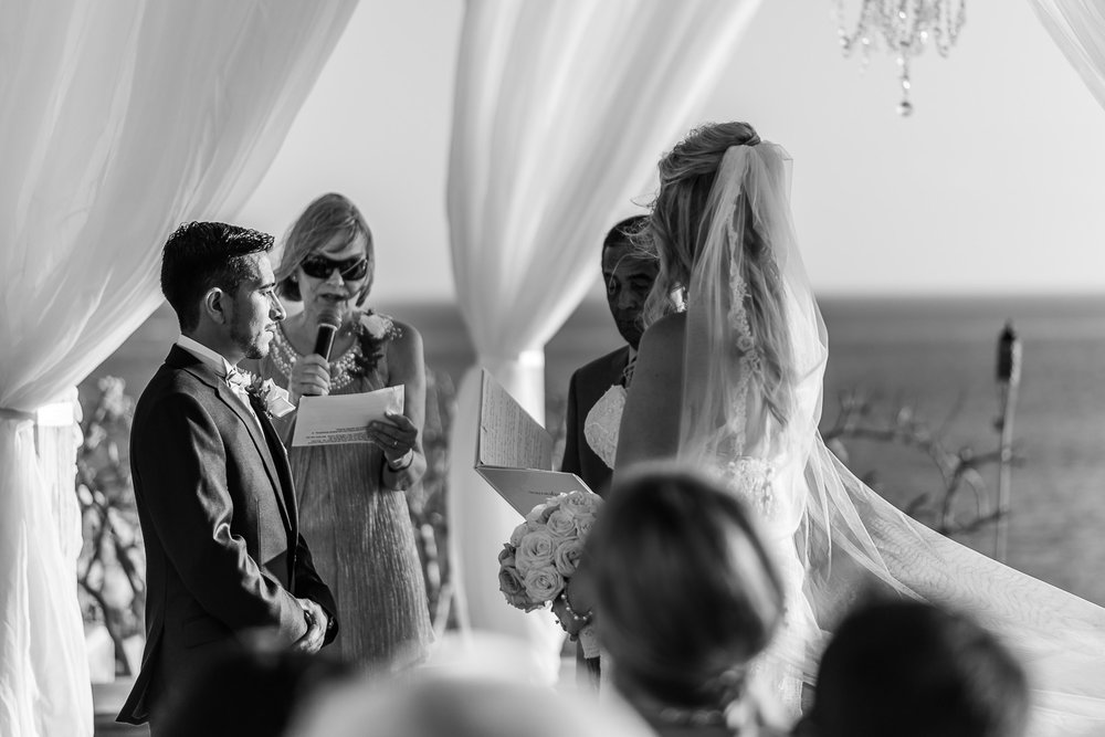 Sunset Monalisa Andrea & Albertos wedding