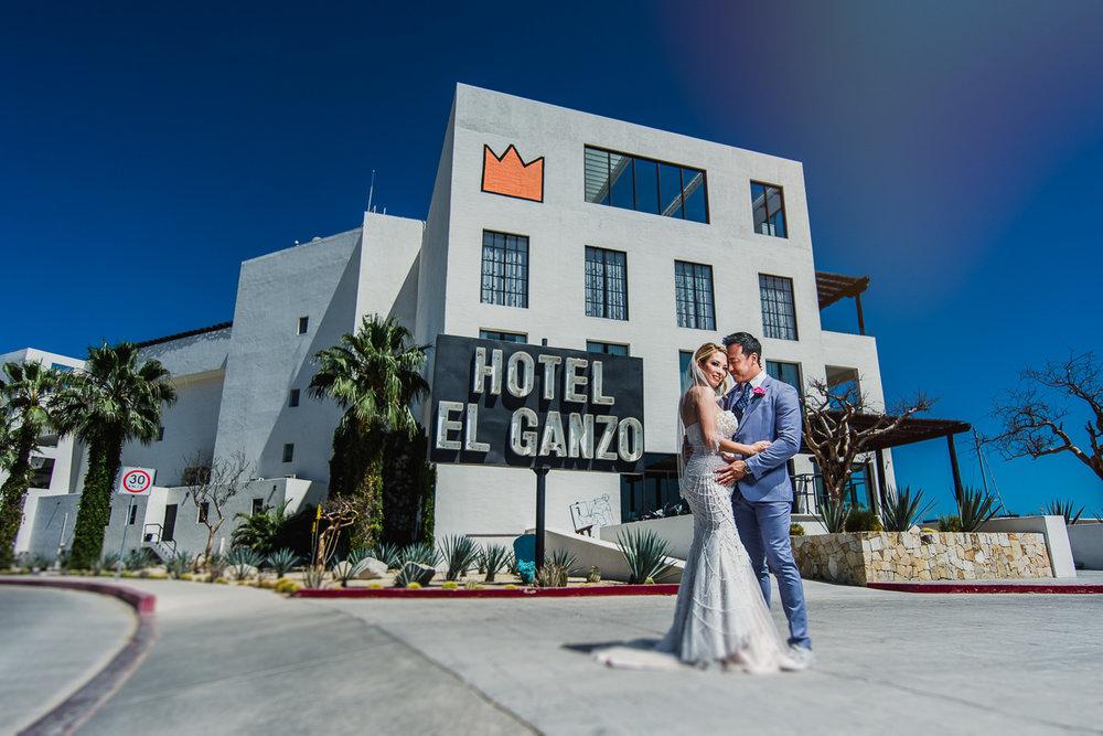 El Ganzo Hotel Wedding. Cije and Joseph