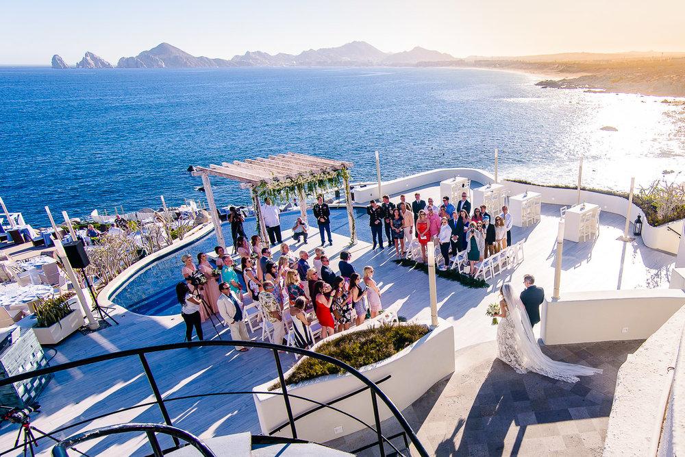 Los Cabos Sunset Monalisa Wedding. Kira and Jon