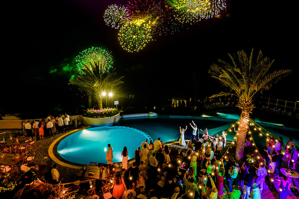 Los Cabos fire works