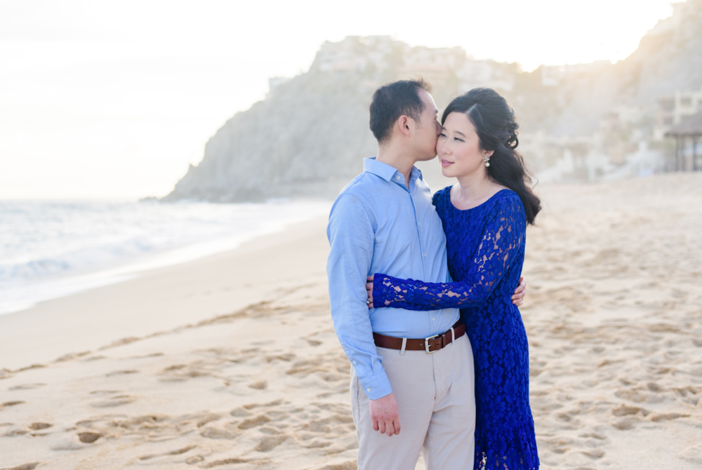 Los Cabos engagement session. E & C
