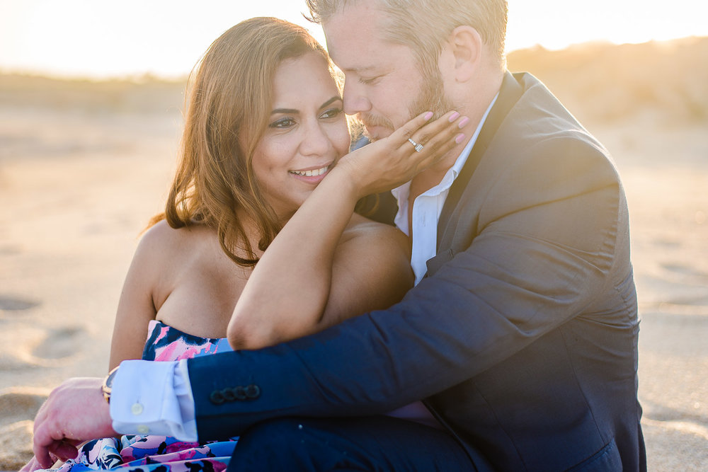 Los Cabos engagement session. R & B