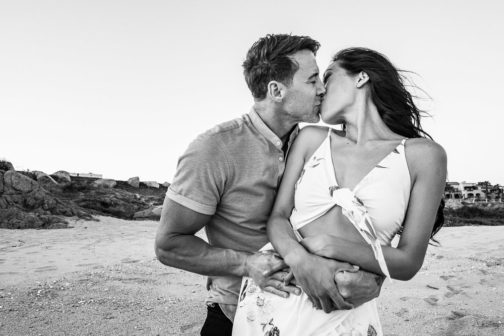 Cabo Engagement photos. C & J