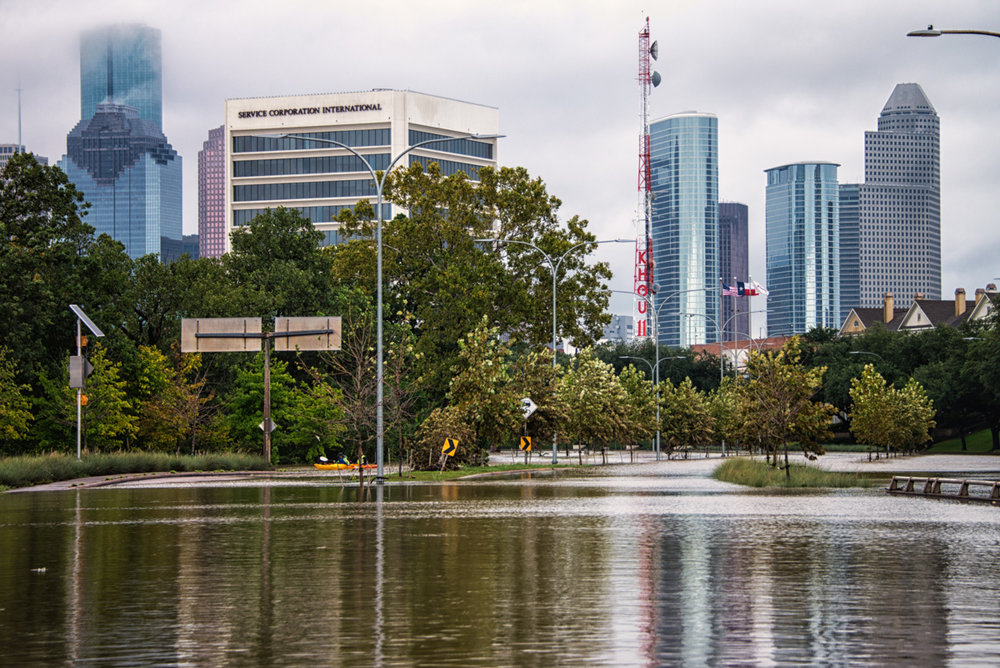 Allen Parkway - My Drive to Downtown