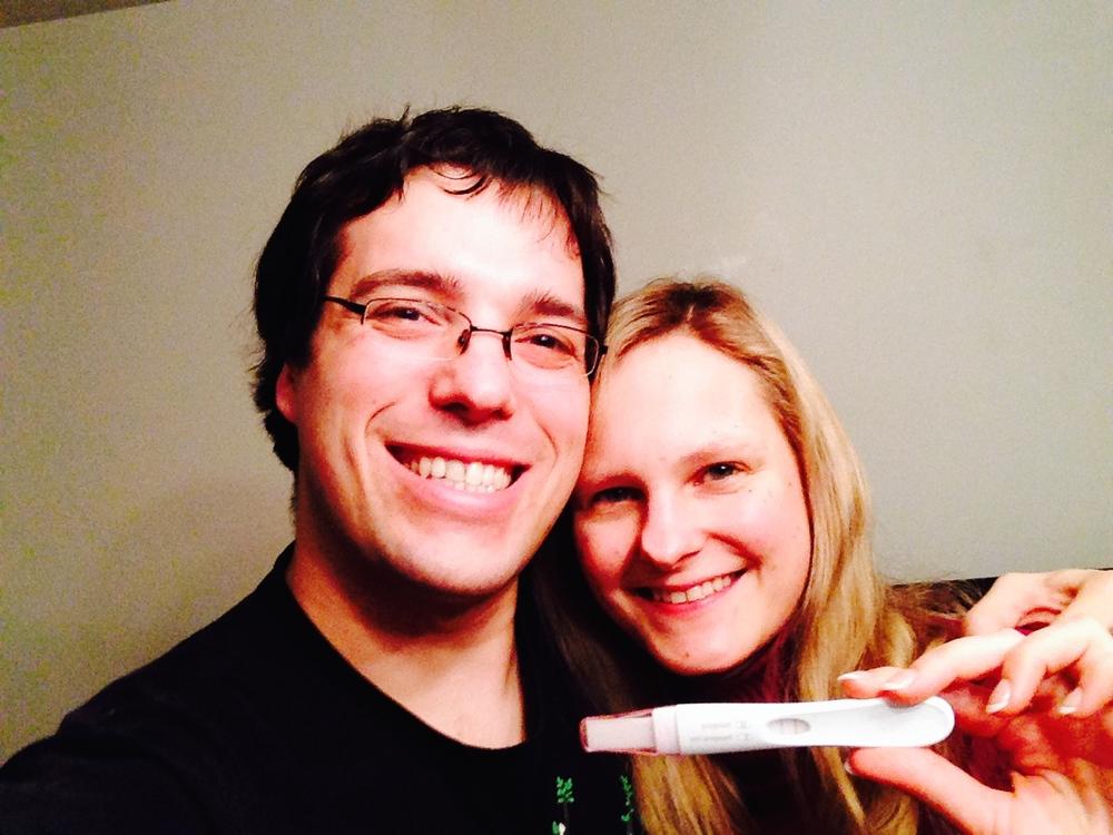Der positive Schwangerschaftstest am 23. Februar