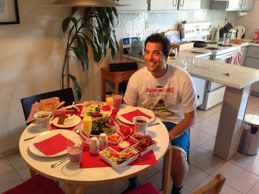 Vatertagsfrühstück