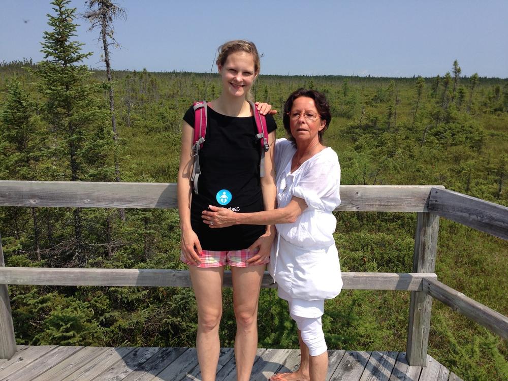 Am Lac St. Jean mit Oma