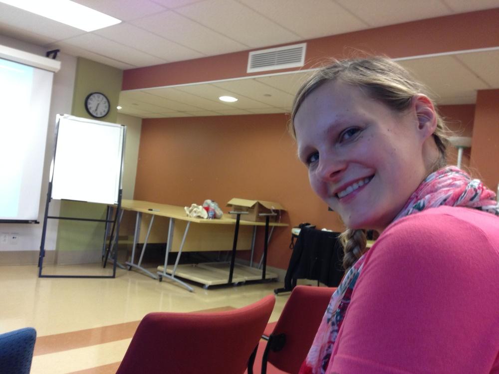 Geburtsvorbereitungskurs auf kanadisch :)