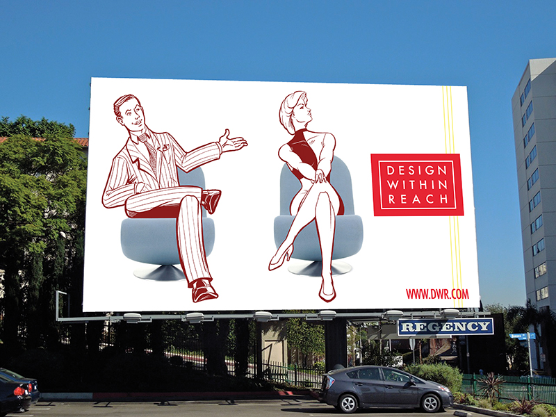 Ad Campaign - Design Within Reach