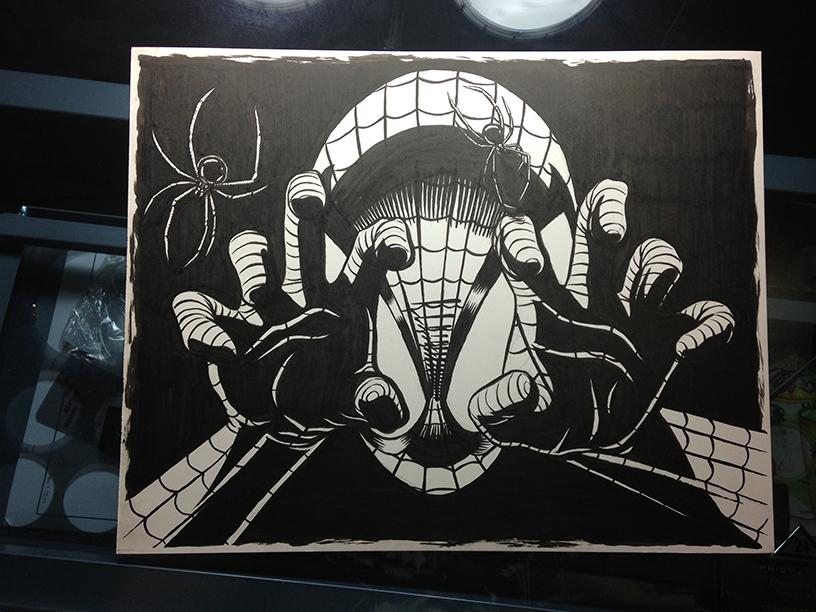 Traditional & Digital Illustration - Spider-Man