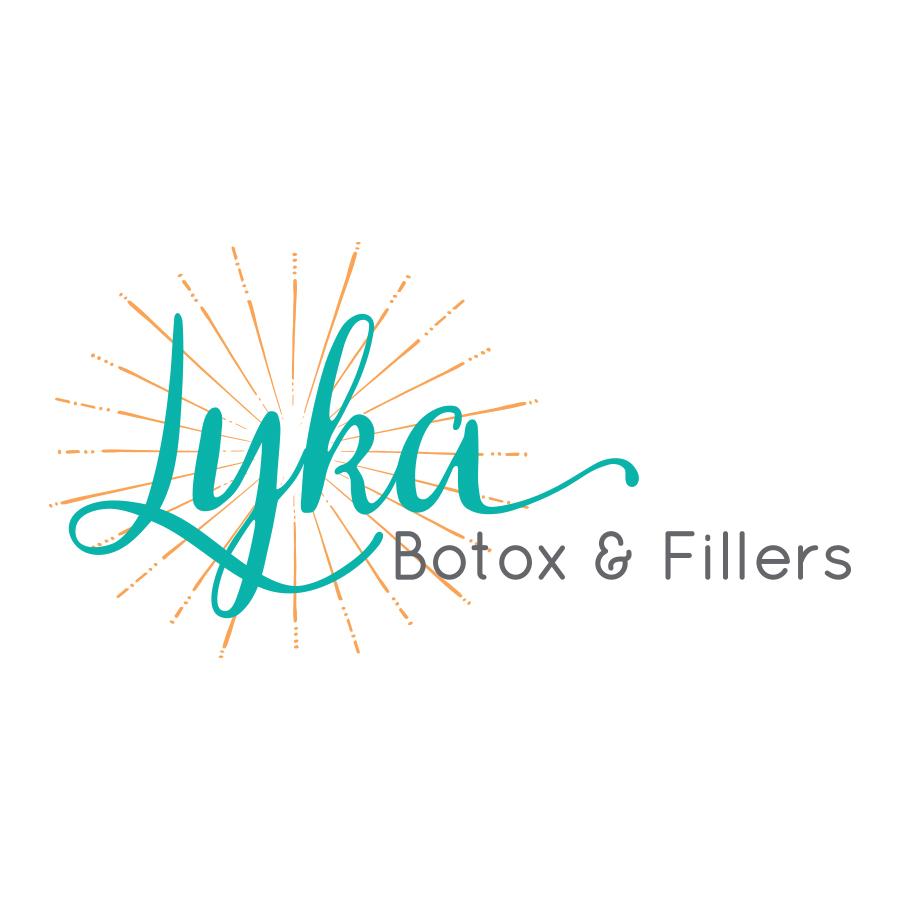 Lyka Botox & Fillers Logo Design