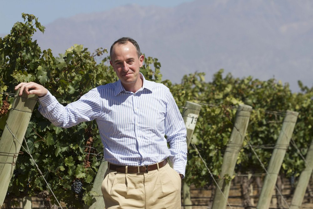 President and CEO of Estates & Wines for the Moët Hennessy Wine Division, Jean-Guillaume Prats