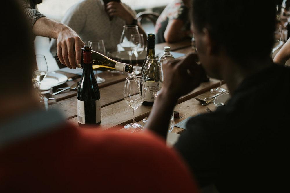 Corporate wine tastings