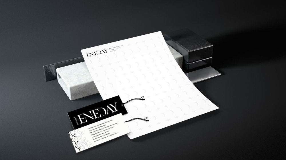 Letterhead, stationary, and hangtags
