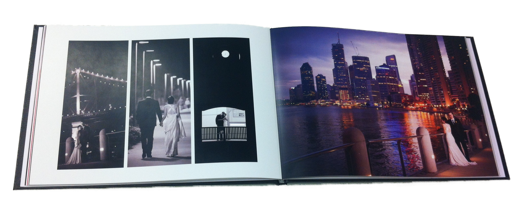 Layflat photobooks are perfect for special occasions.
